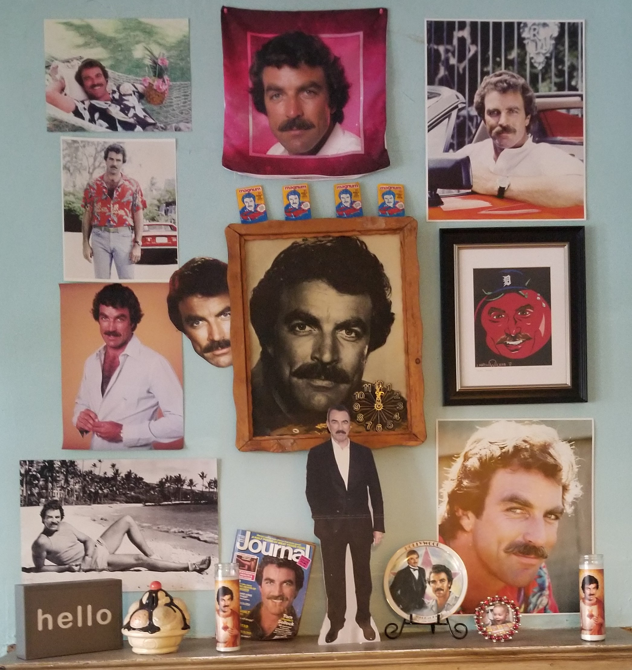 Tom Selleck Shrine